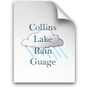 Collins Lake Rain Guage